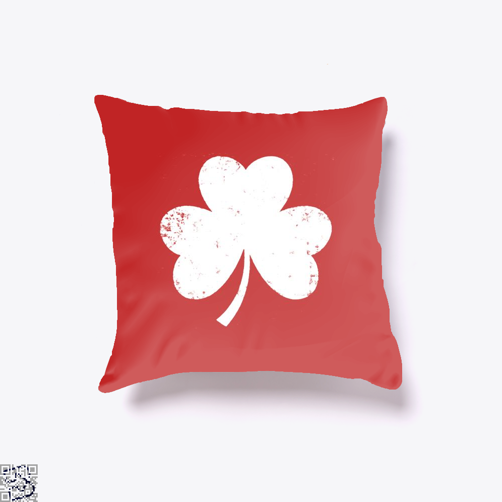 Clover Trefoil Saint Patricks Day Throw Pillow Cover - Productgenjpg
