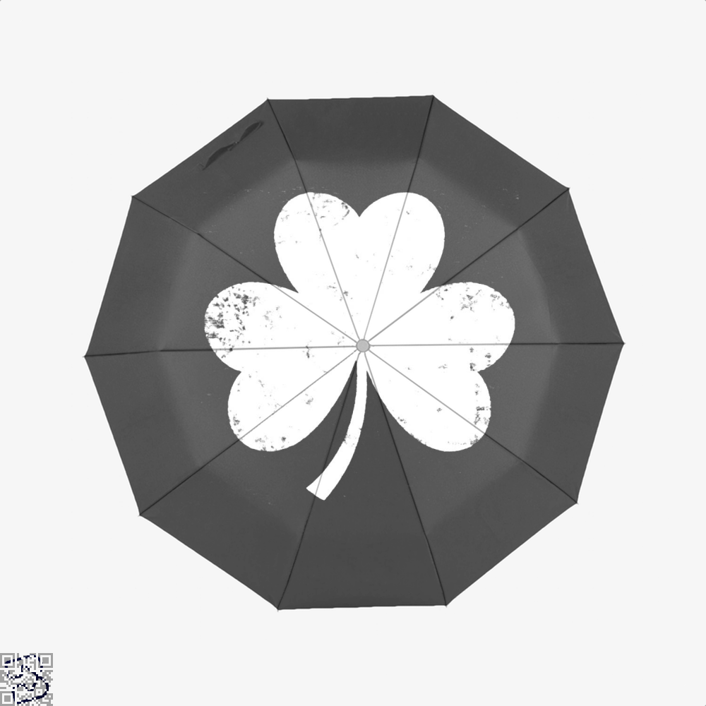 Clover Trefoil Saint Patricks Day Umbrella - Productgenjpg
