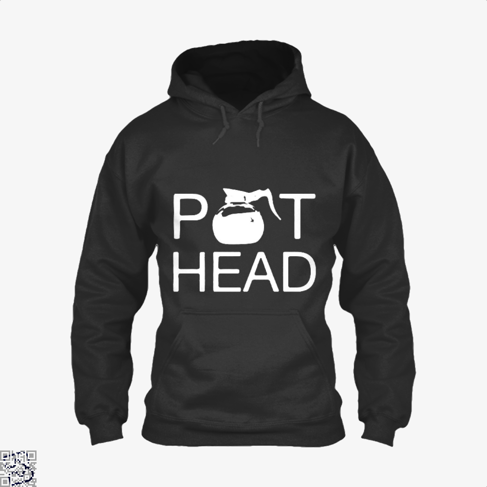 Coffee Pot Head Hoodie - Black / X-Small - Productgenapi