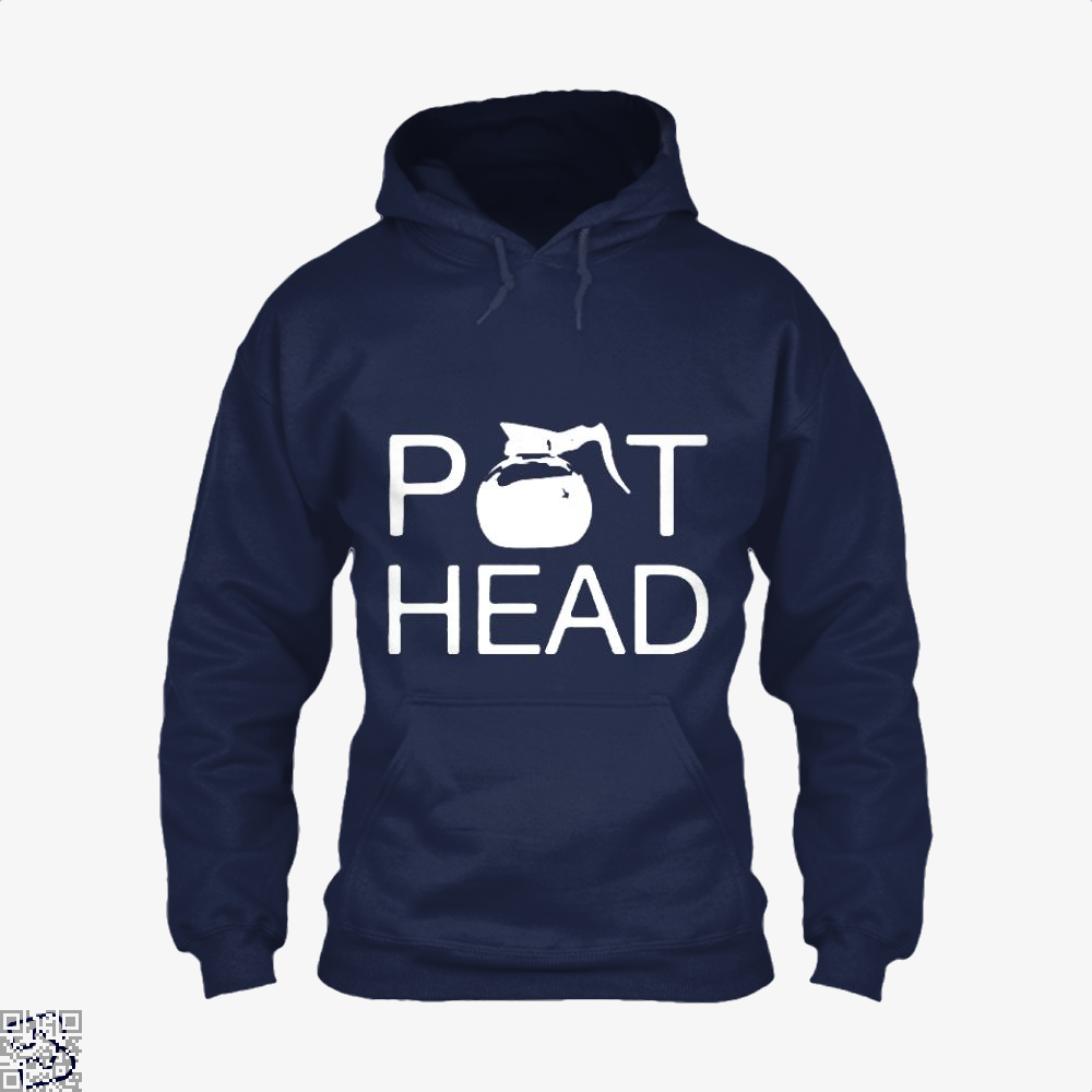 Coffee Pot Head Hoodie - Blue / X-Small - Productgenapi
