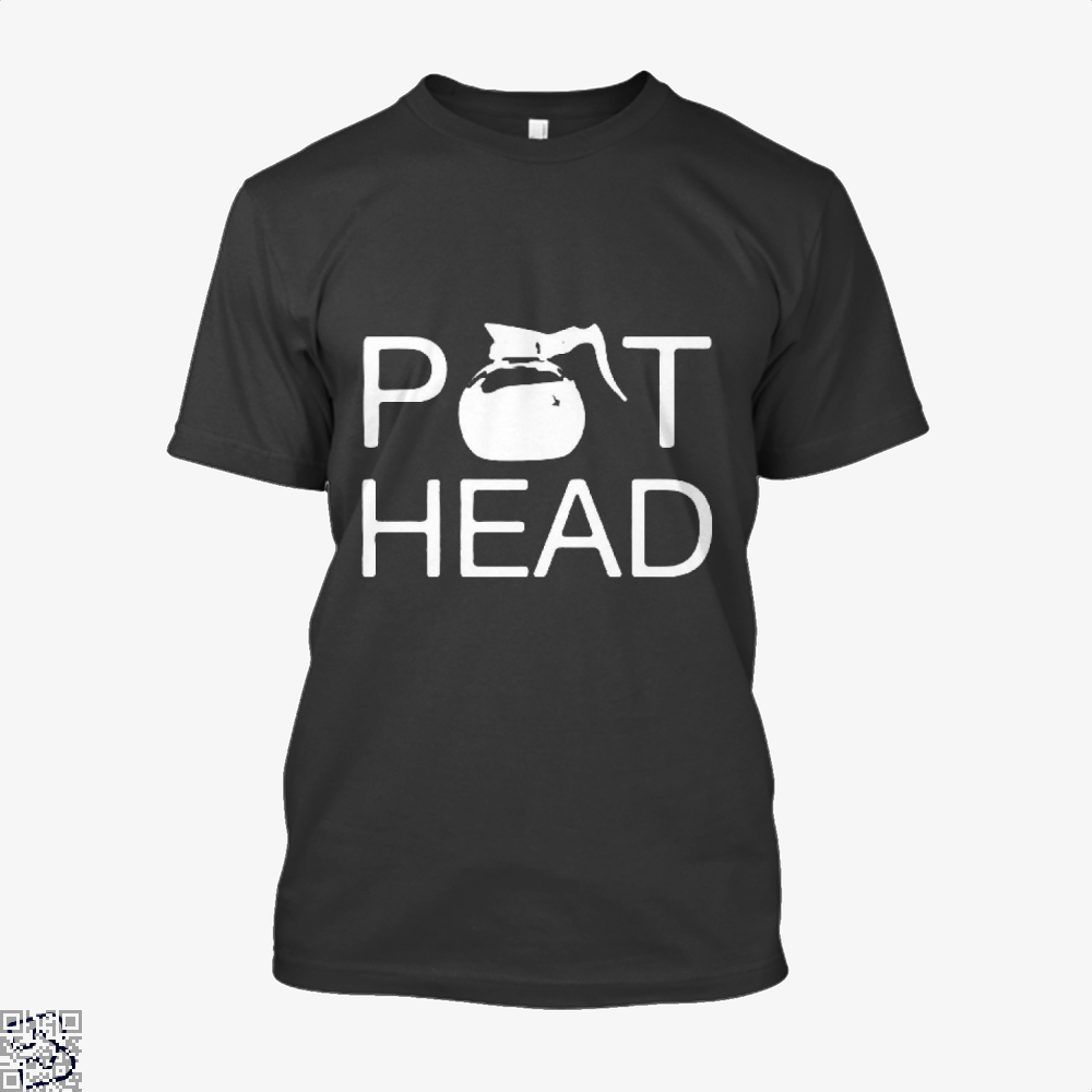 Coffee Pot Head Shirt - Men / Black / X-Small - Productgenapi