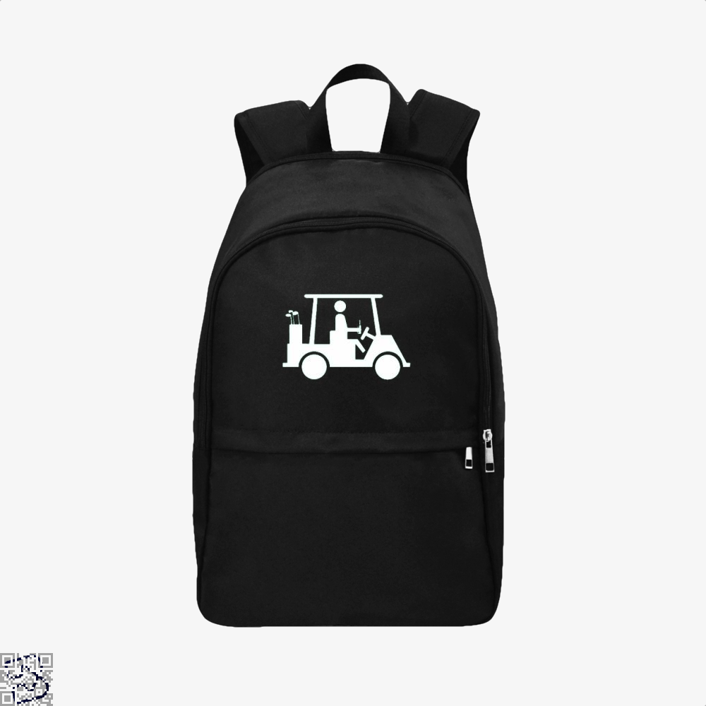 Cool Golfing Juvenile Backpack - Black / Adult - Productgenjpg