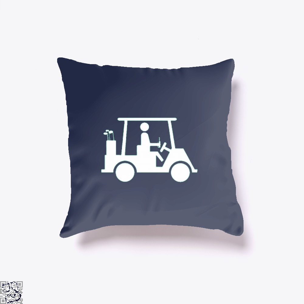 Cool Golfing Juvenile Throw Pillow Cover - Productgenjpg
