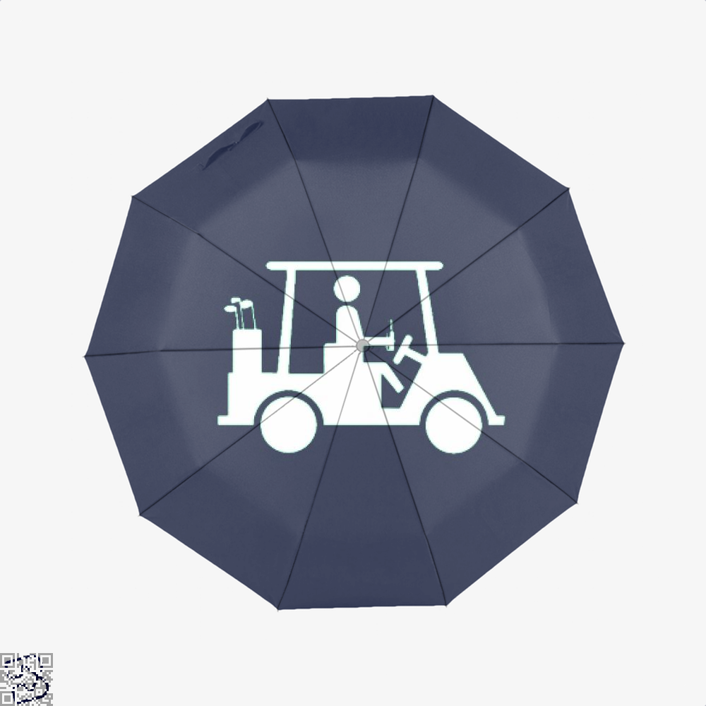Cool Golfing Juvenile Umbrella - Productgenjpg
