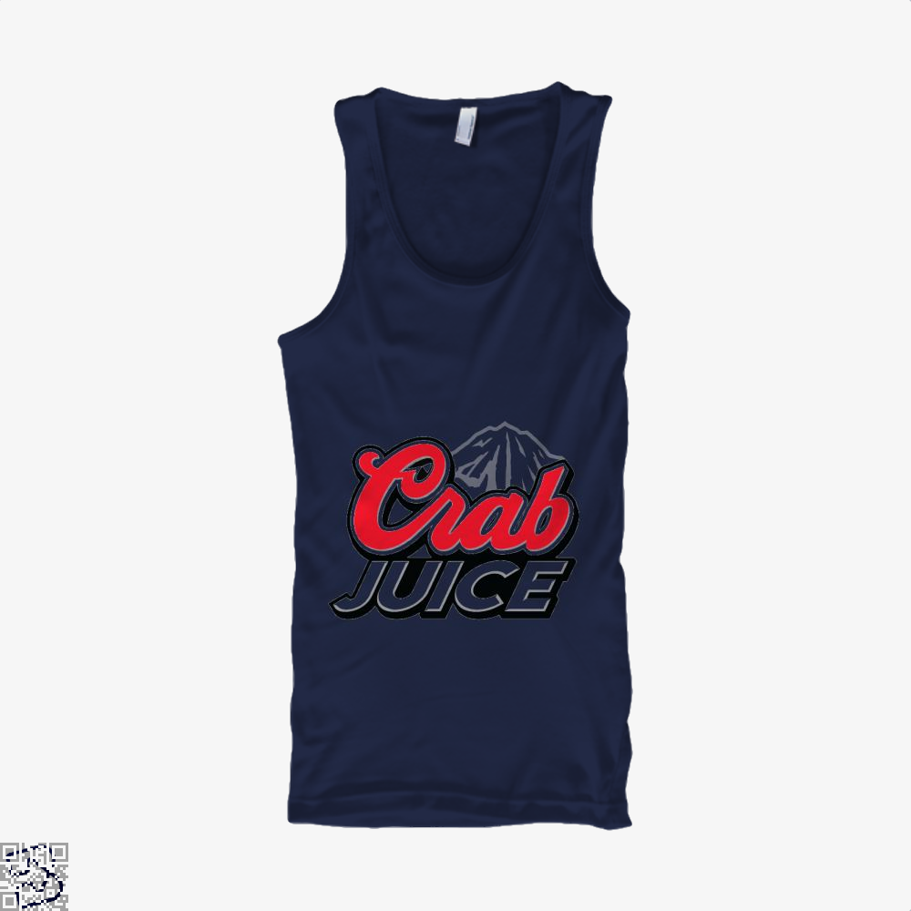 Crab Juice The Simpsons Tank Top - Men / Blue / X-Small - Productgenjpg
