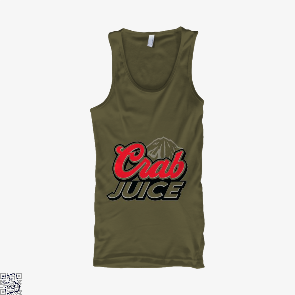 Crab Juice The Simpsons Tank Top - Men / Brown / X-Small - Productgenjpg