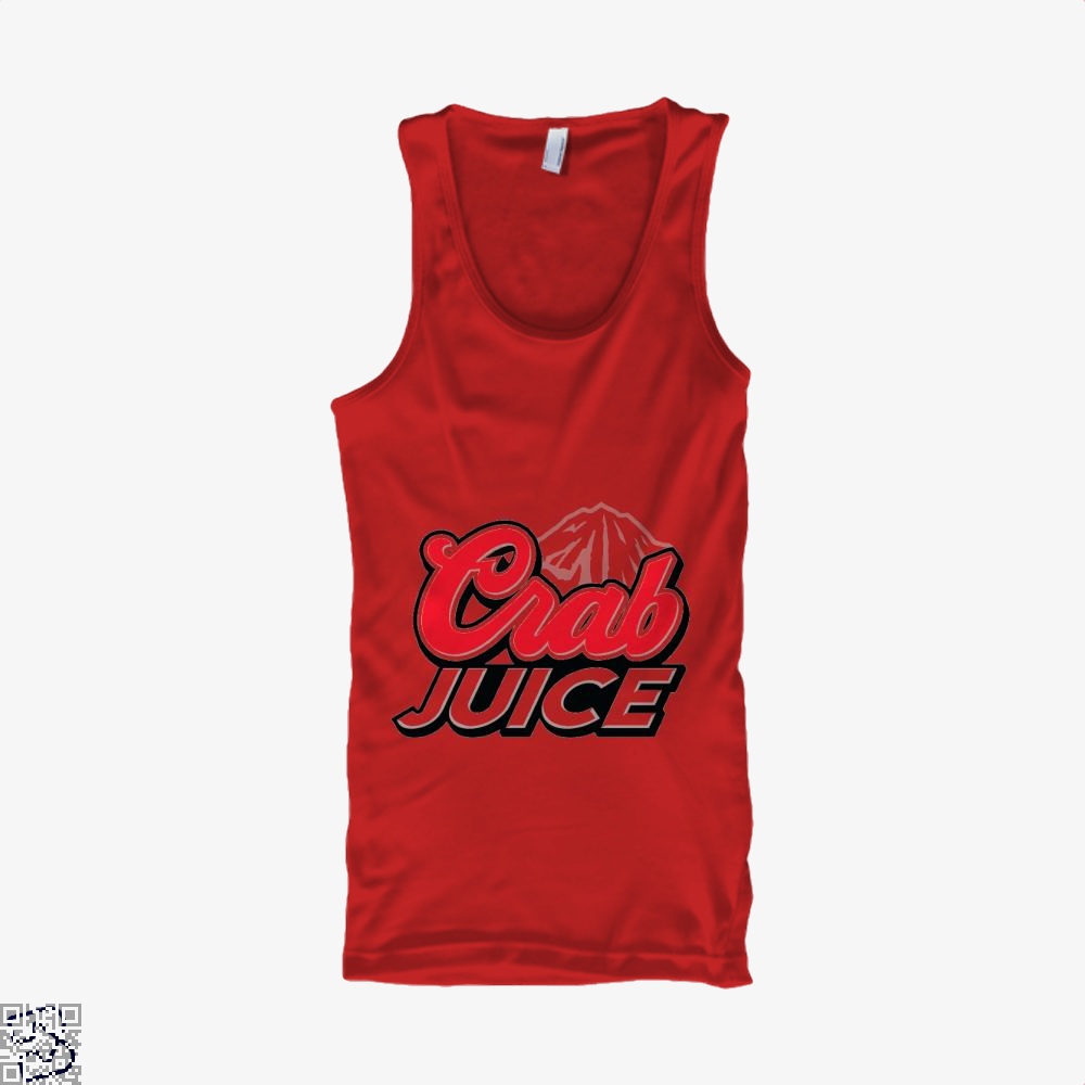 Crab Juice The Simpsons Tank Top - Women / Red / X-Small - Productgenjpg
