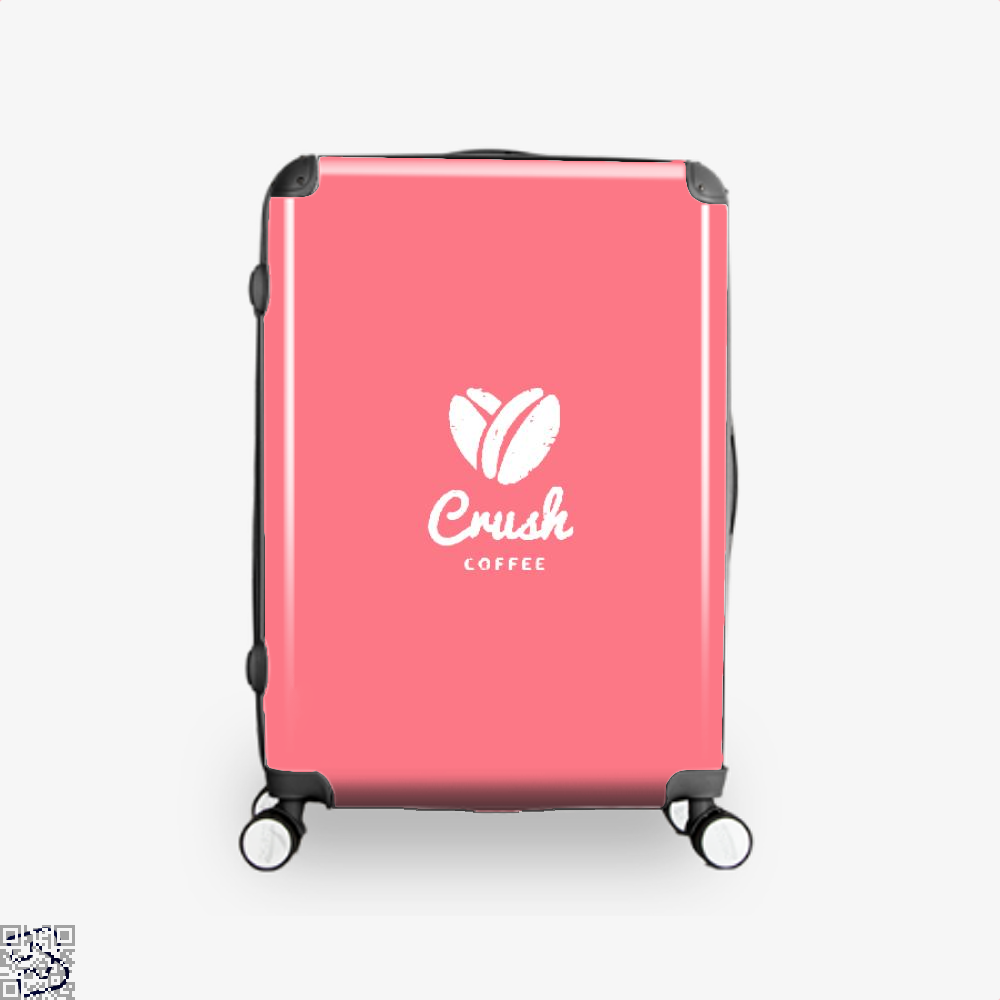 Crush Coffee Suitcase - Pink / 16 - Productgenapi