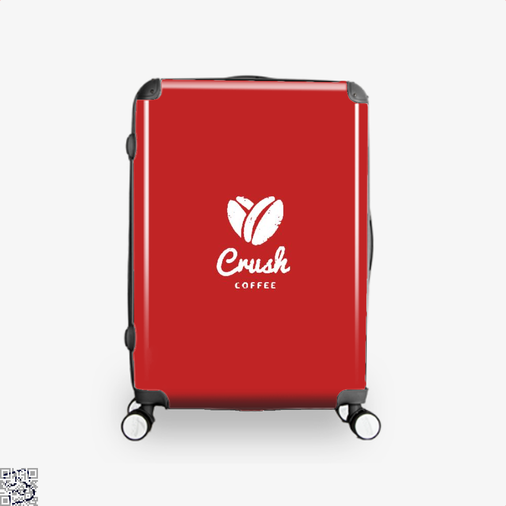 Crush Coffee Suitcase - Red / 16 - Productgenapi
