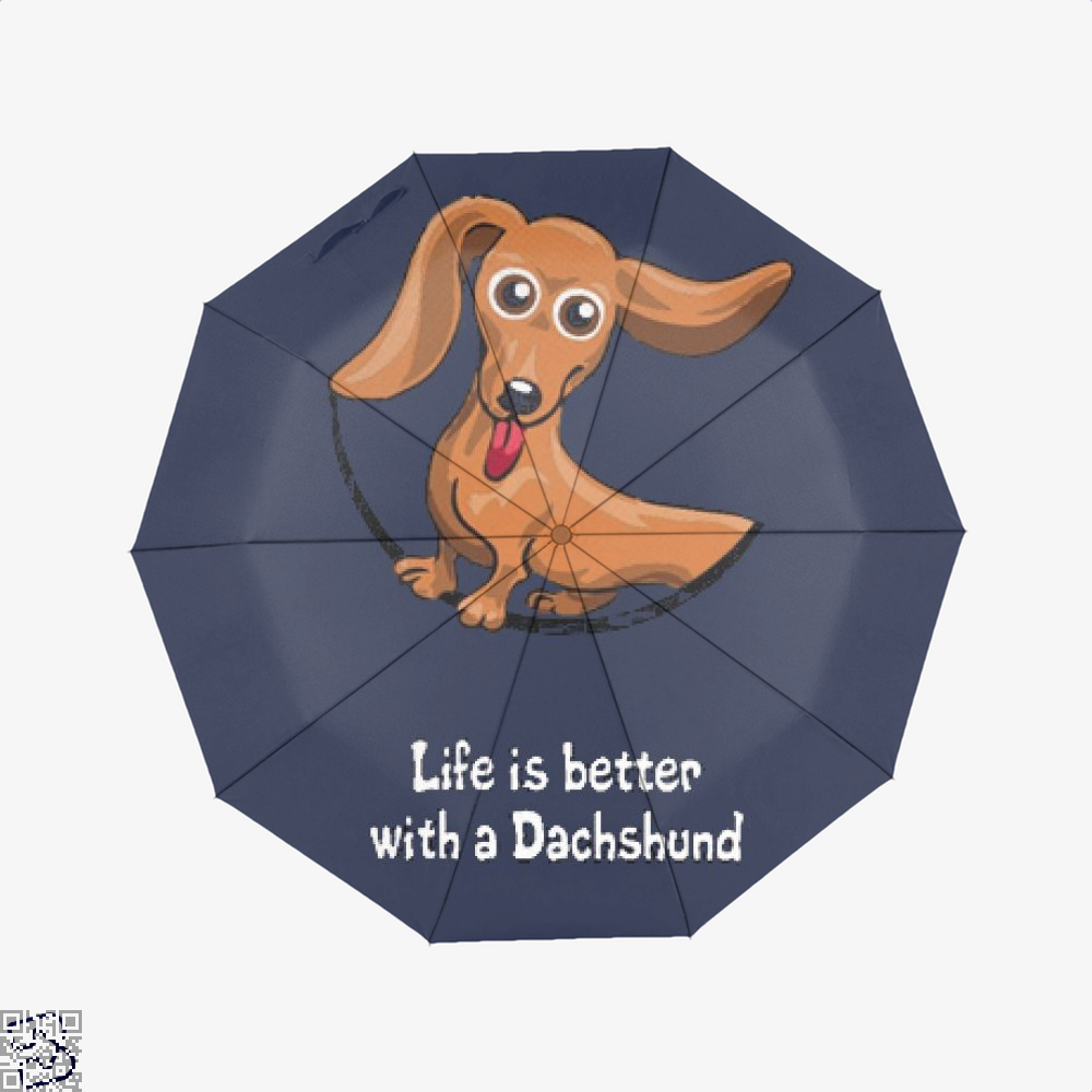 Dachshund Umbrella - Productgenjpg