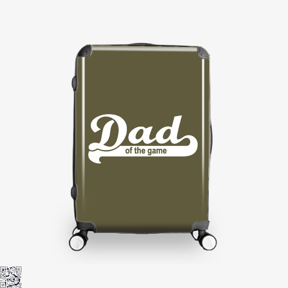 Dad Of The Game Fathers Day Suitcase - Brown / 16 - Productgenapi