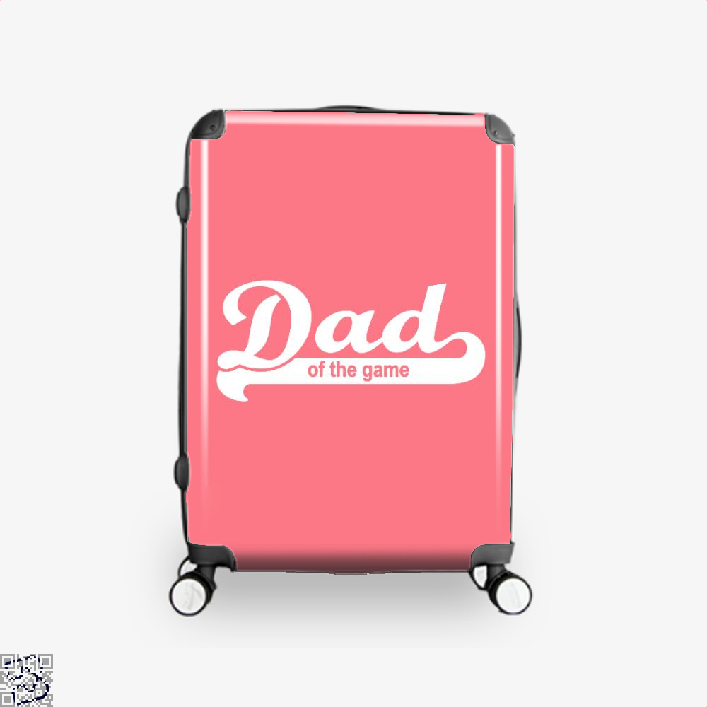 Dad Of The Game Fathers Day Suitcase - Pink / 16 - Productgenapi