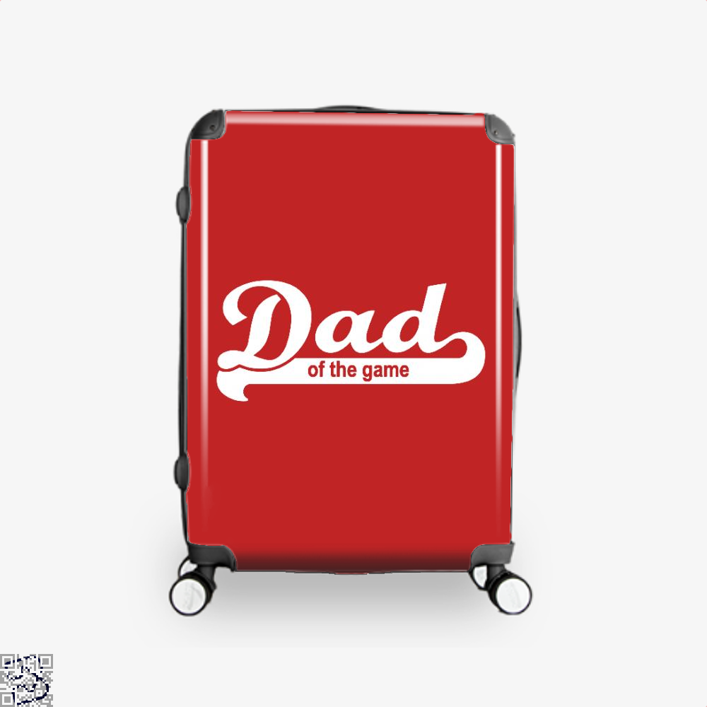 Dad Of The Game Fathers Day Suitcase - Red / 16 - Productgenapi