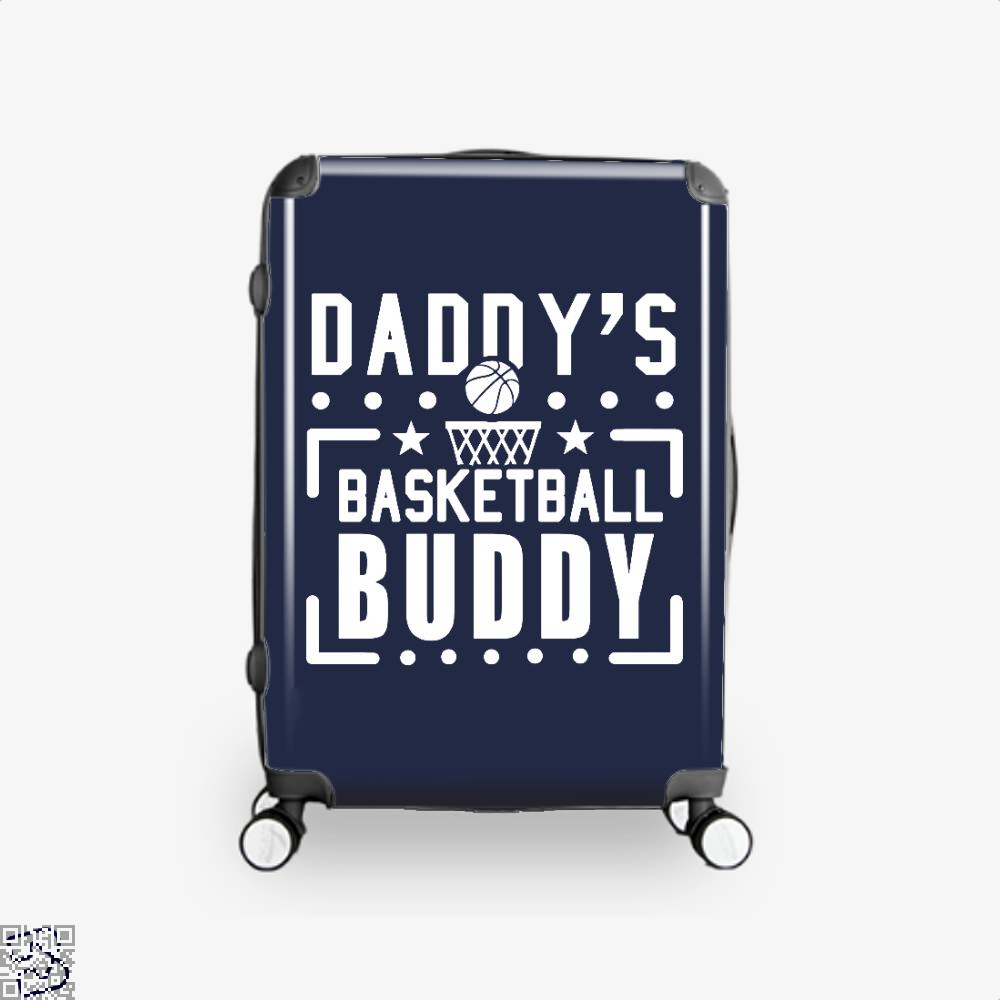 Daddys Basketball Buddy Fathers Day Suitcase - Blue / 16 - Productgenapi