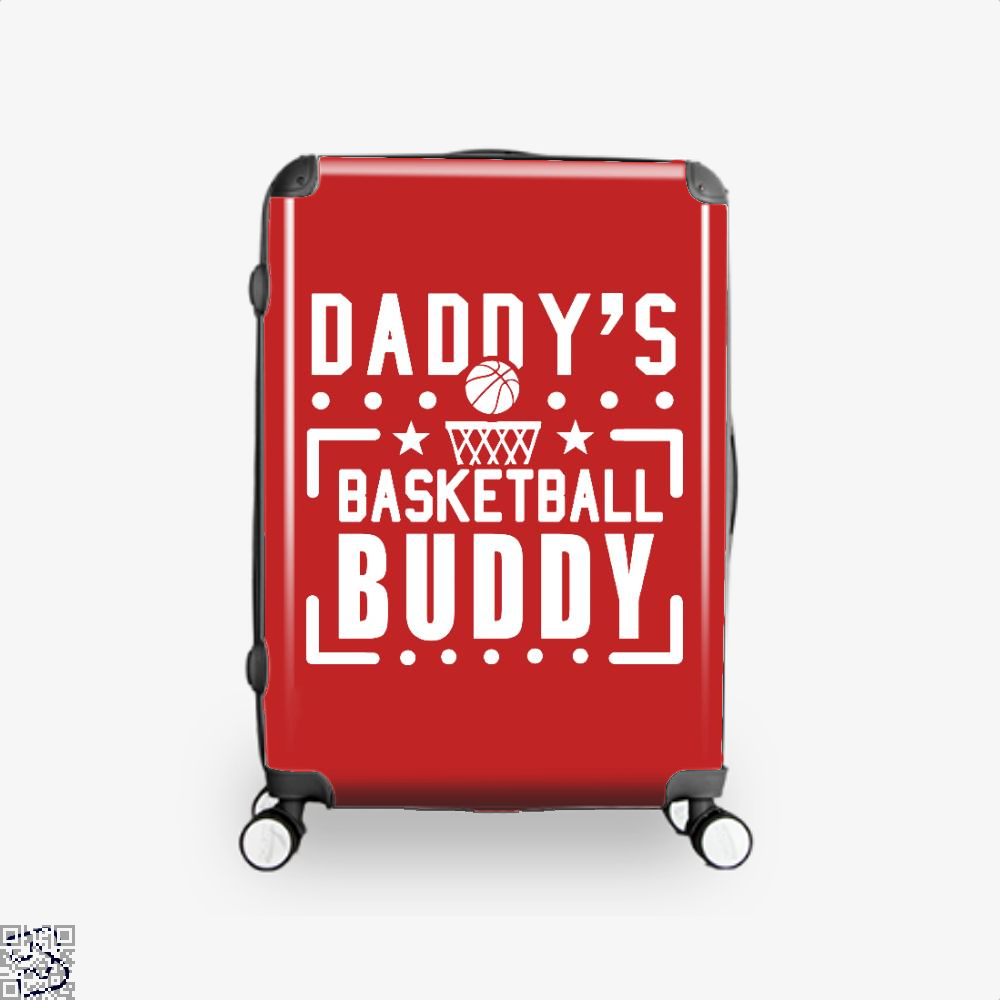 Daddys Basketball Buddy Fathers Day Suitcase - Red / 16 - Productgenapi