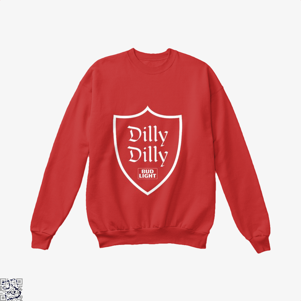 Dilly Dilly In Dilly Dilly Crew Neck Sweatshirt - Red / X-Small - Productgenapi