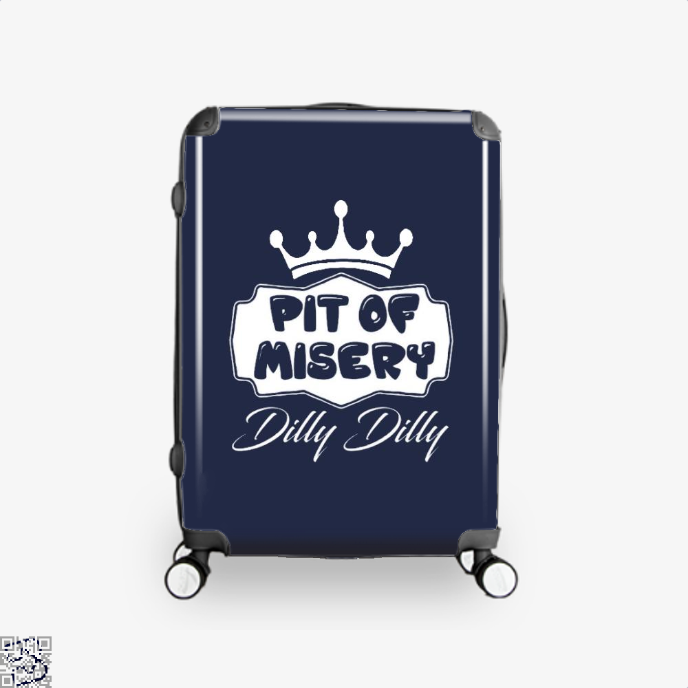 Dilly Dilly Pit Of Mistery Dilly Dilly Suitcase - Blue / 16 - Productgenapi