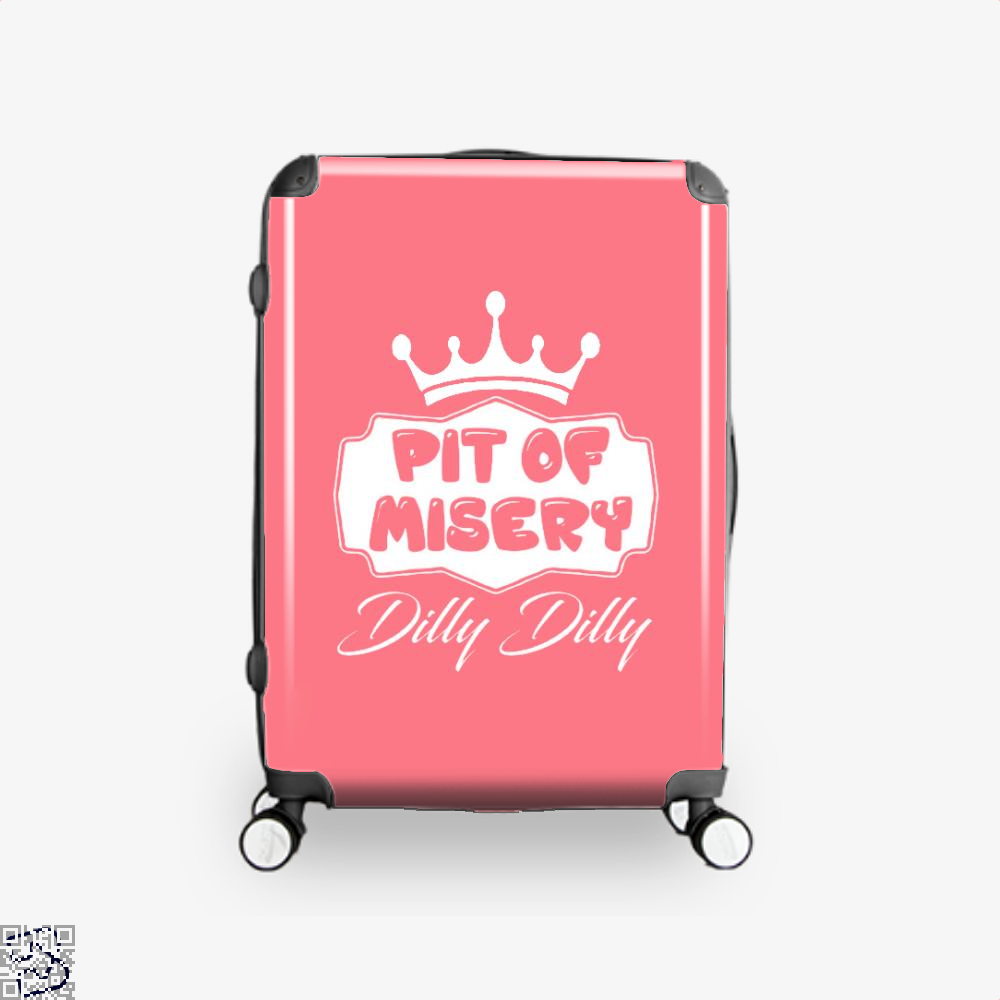 Dilly Dilly Pit Of Mistery Dilly Dilly Suitcase - Pink / 16 - Productgenapi