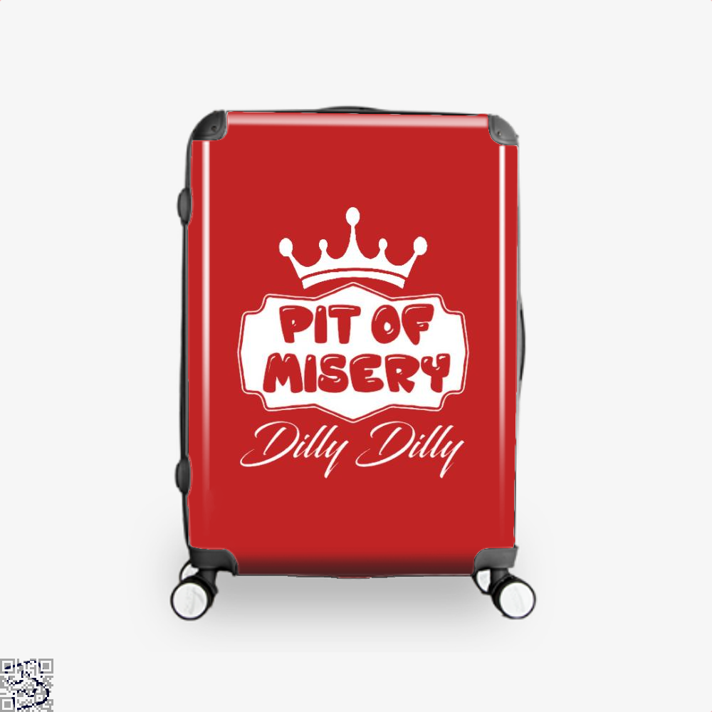 Dilly Dilly Pit Of Mistery Dilly Dilly Suitcase - Red / 16 - Productgenapi