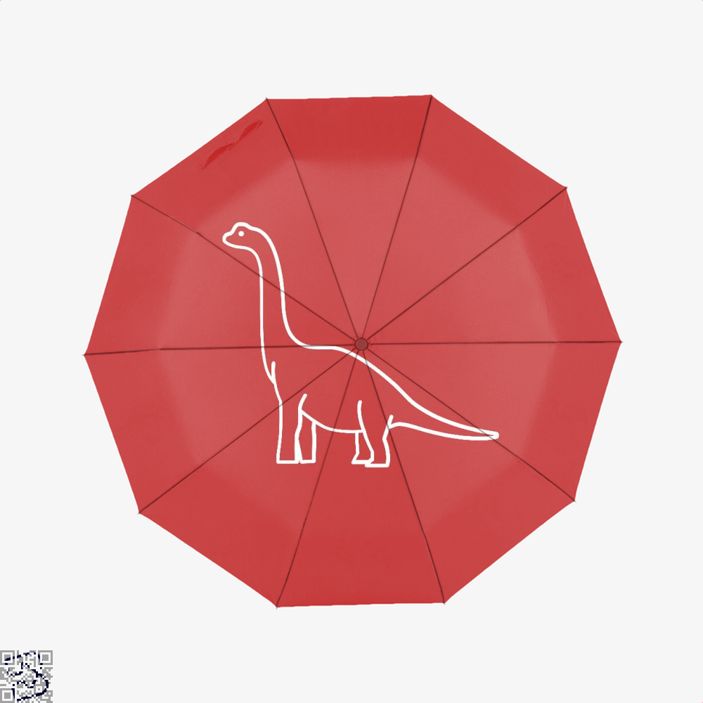 Dinosaur Cute Umbrella - Red - Productgenjpg