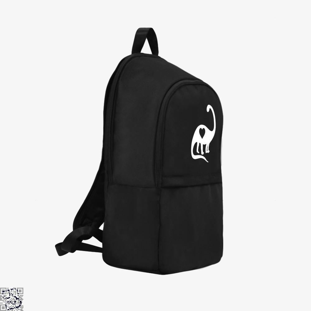 Dinosaur With Heart Valentines Day Backpack - Productgenjpg