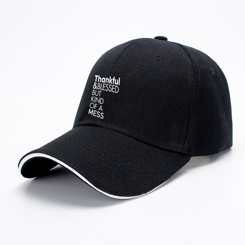 Thankful And Blessed But Kind Of A Mess, Turkey Baseball Cap