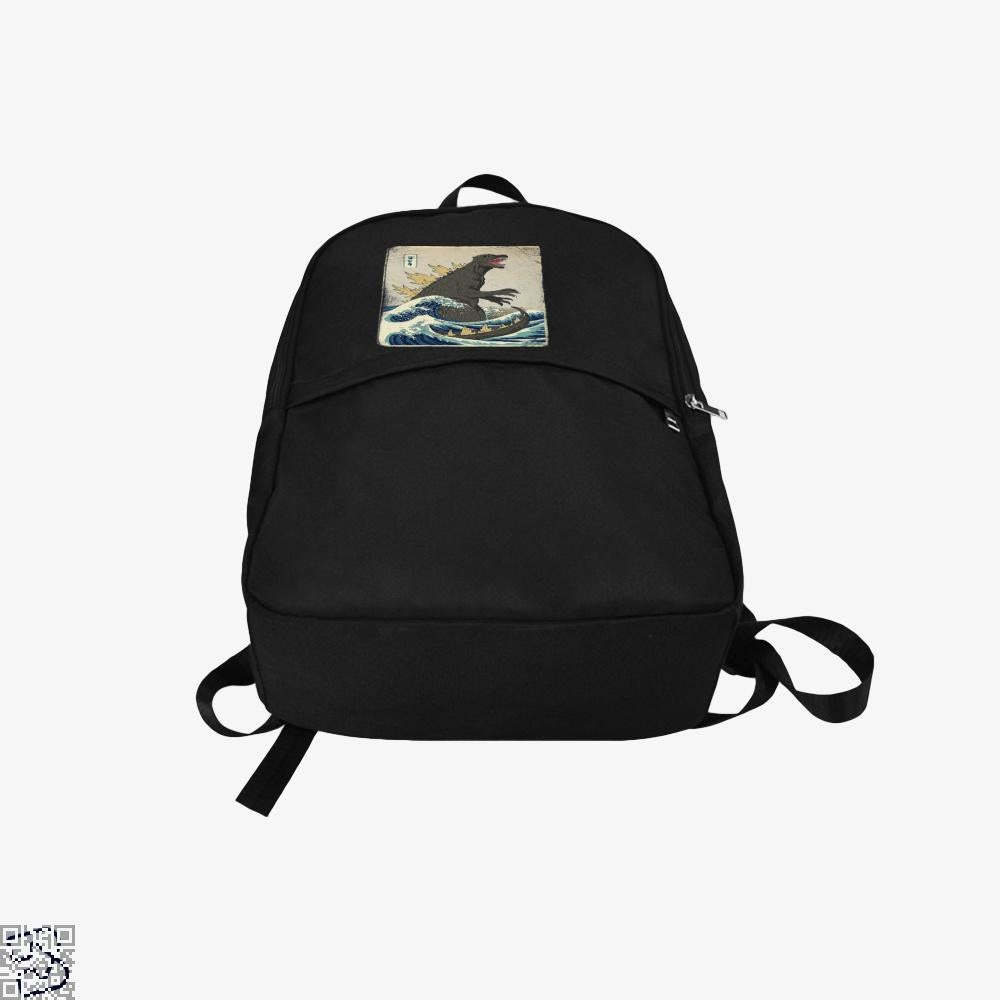 The Great Godzilla Off Kanagawa, Godzilla Backpack