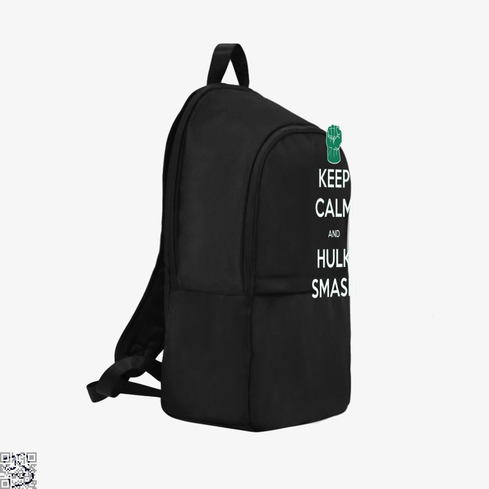 Keep Calm And Hulk Smash, Hulk Backpack