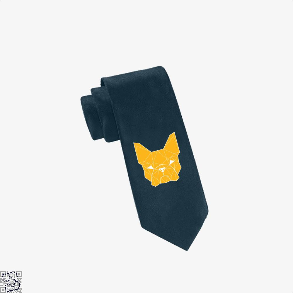 French Geometry, French Bulldog Tie