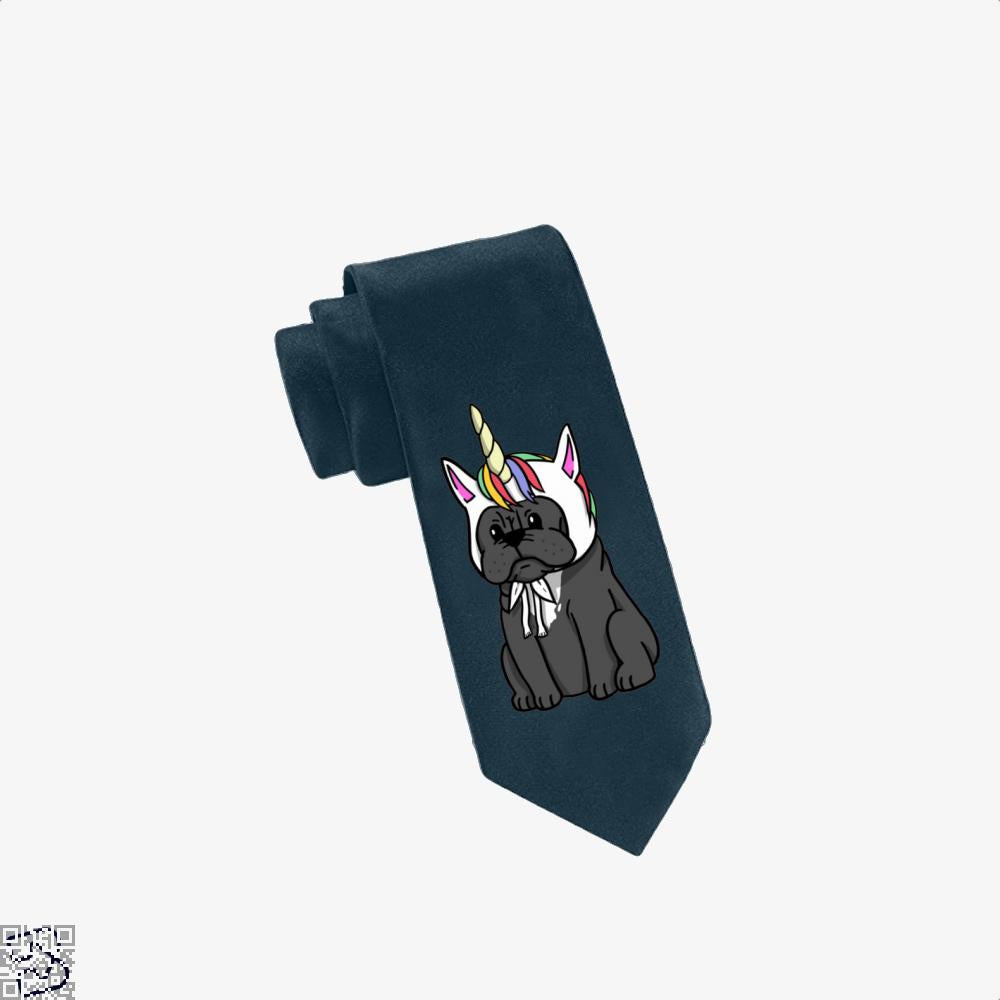 Funny Unicorn French Bulldog, French Bulldog Tie