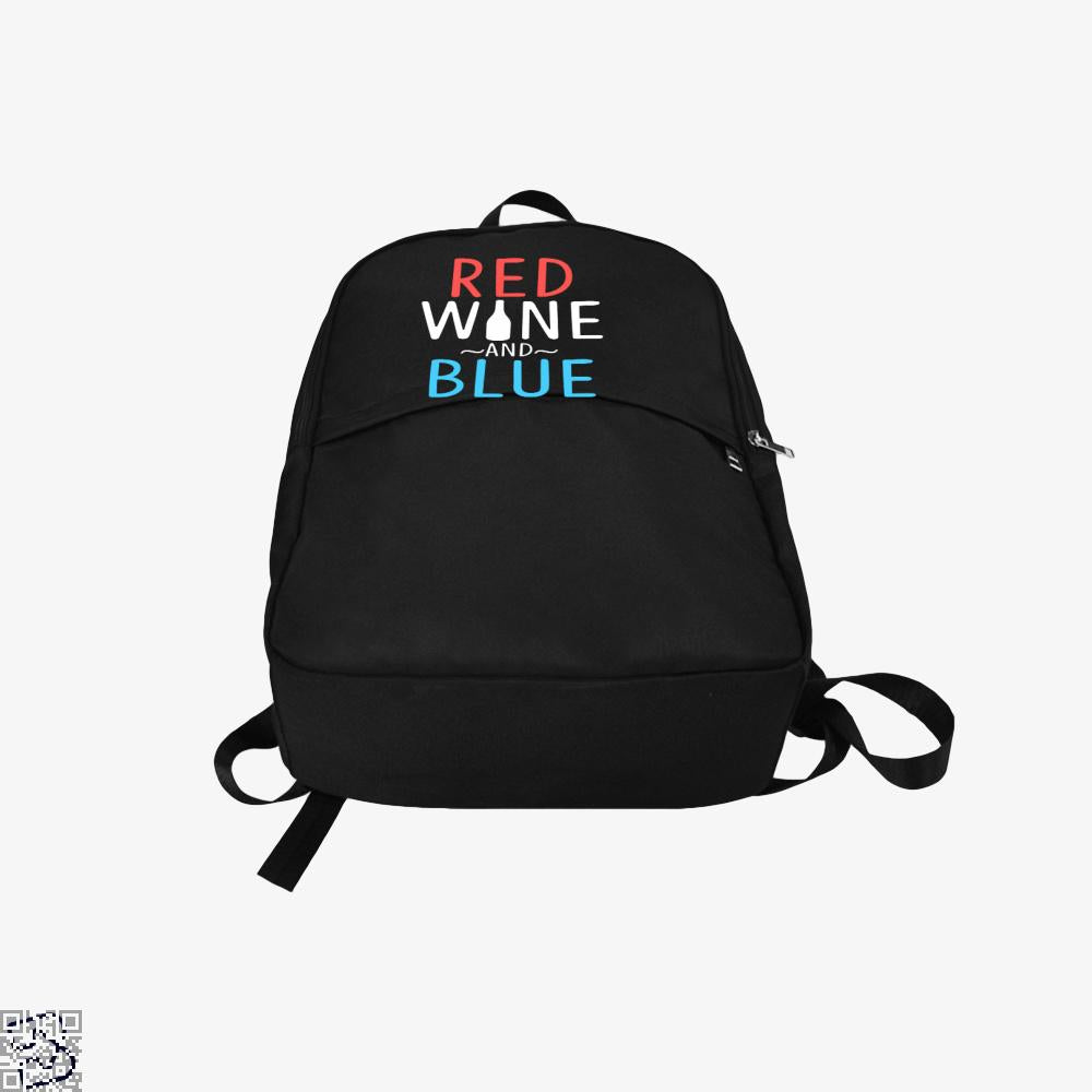 Red Wine And Blue, Wine Backpack