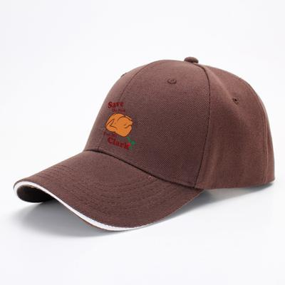 Save The Neck For Me Clark, Turkey Baseball Cap