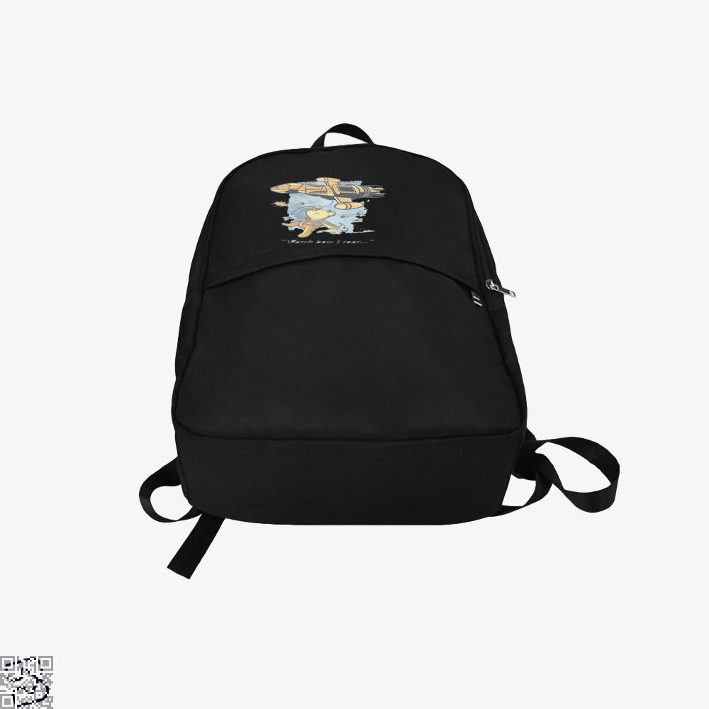 Watch How I Soar, Winnie-the-pooh Backpack