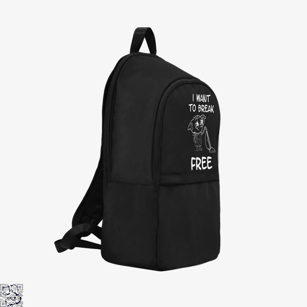 I Want To Break Free, Dobby Backpack