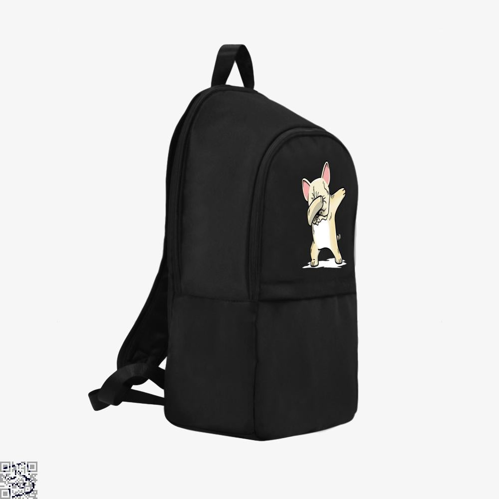 Funny Dabbing Cream French Bulldog Dog, French Bulldog Backpack