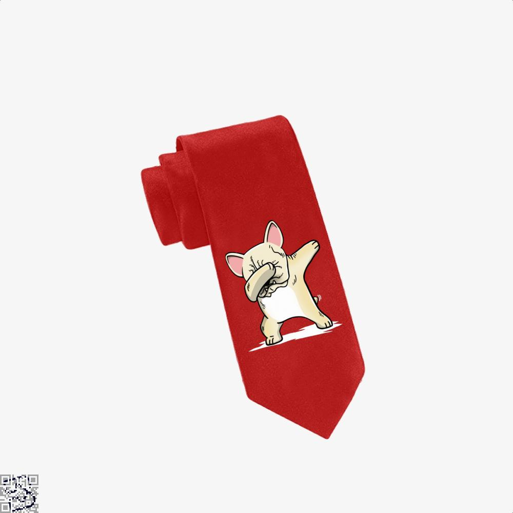 Funny Dabbing Cream French Bulldog Dog, French Bulldog Tie