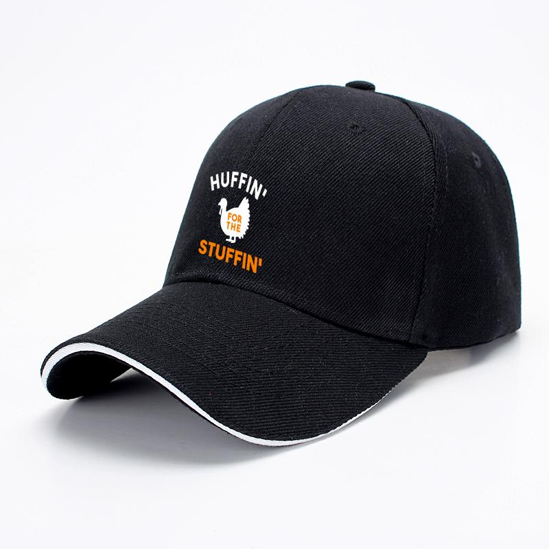 Huffin For The Stuffin, Turkey Baseball Cap