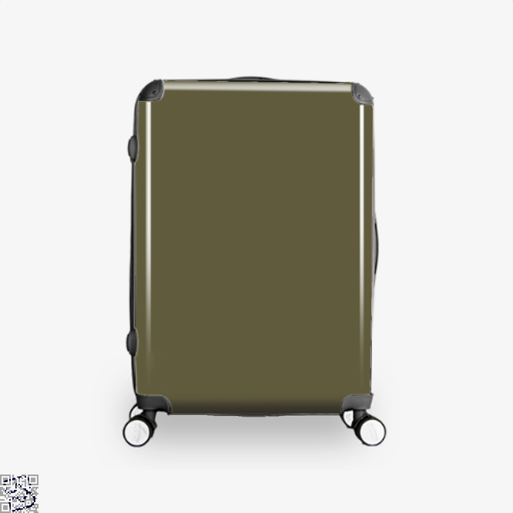 Do You Love Fishing With Your Husband Suitcase - Brown / 16 - Productgenjpg