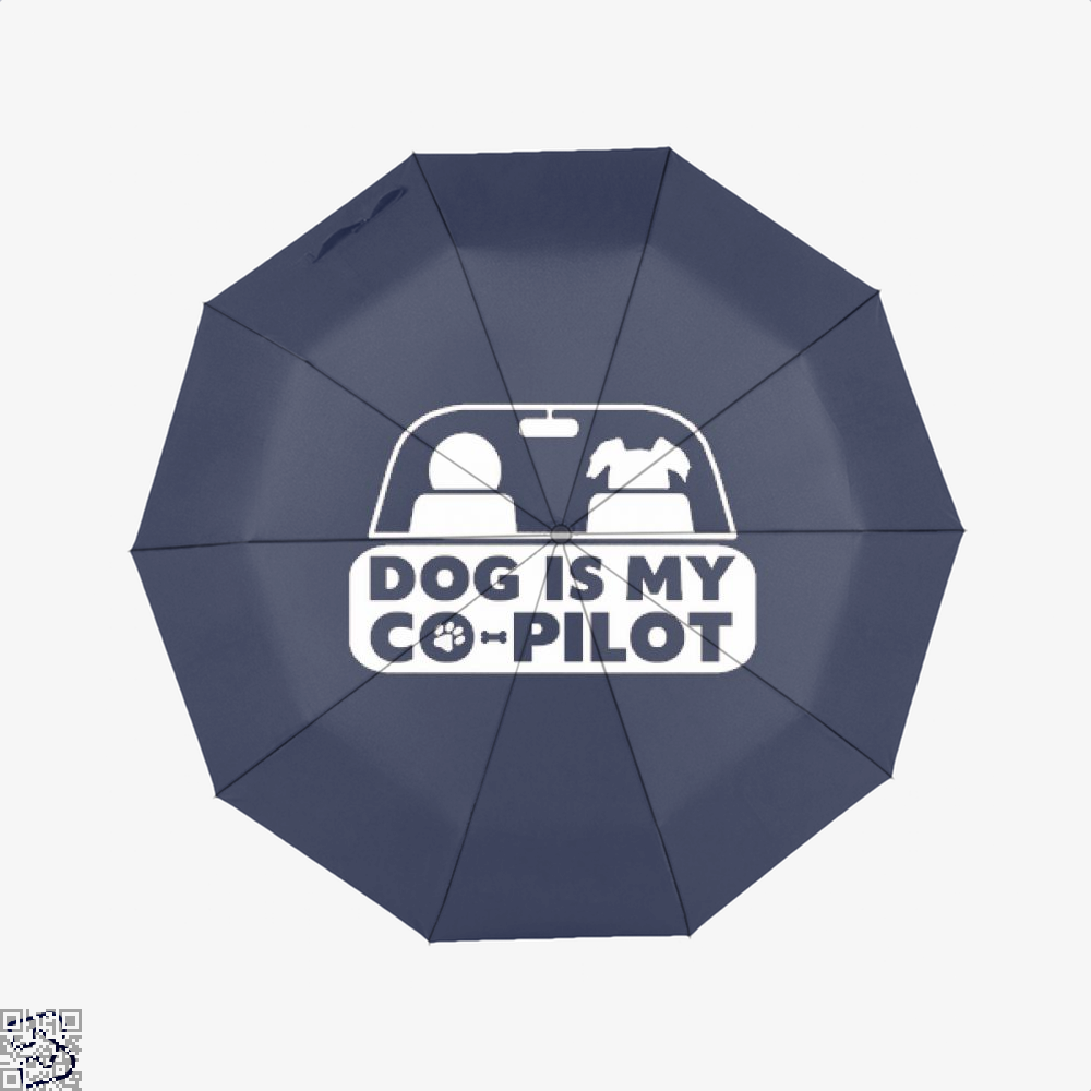 Dog Is My Co-Pilot Ironic Umbrella - Productgenjpg
