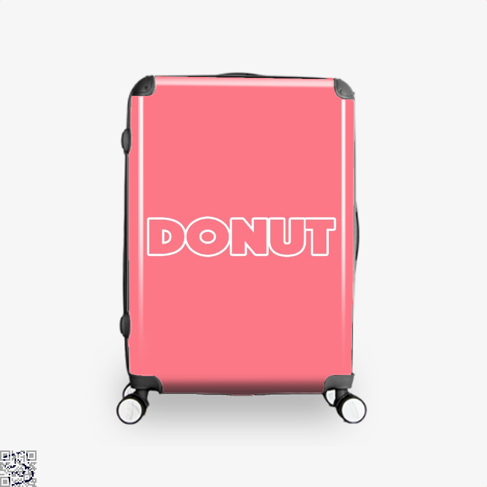 Donut Doughnuts Suitcase - Pink / 16 - Productgenapi