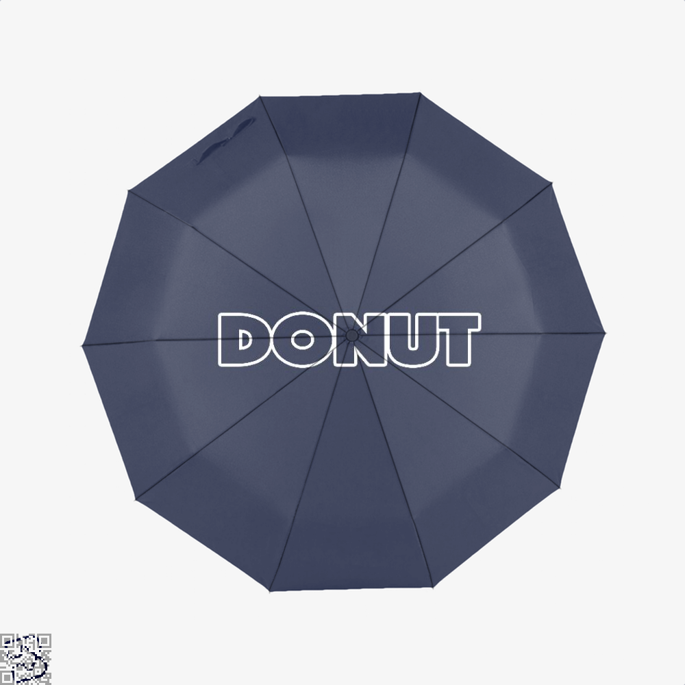 Donut Doughnuts Umbrella - Blue - Productgenapi