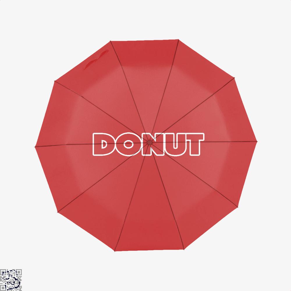Donut Doughnuts Umbrella - Red - Productgenapi