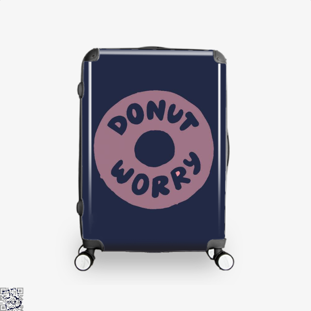 Donut Worry Doughnuts Suitcase - Blue / 16 - Productgenapi