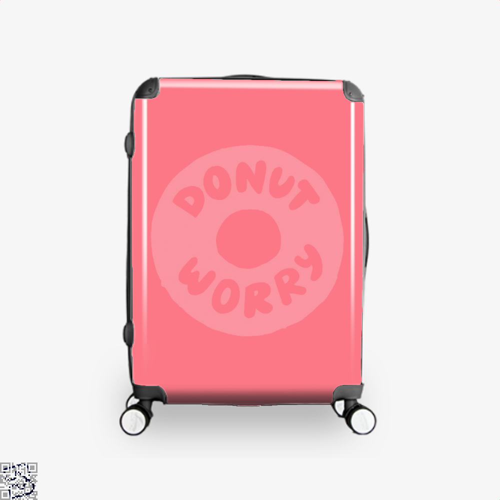 Donut Worry Doughnuts Suitcase - Pink / 16 - Productgenapi