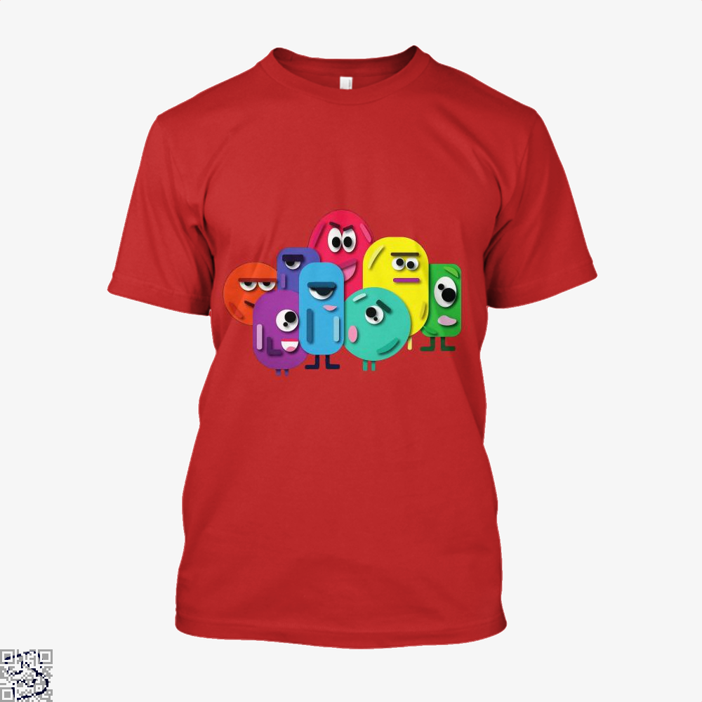 Doodle Buddy Trials Aathira Mohan Shirt - Men / Red / X-Small - Productgenapi