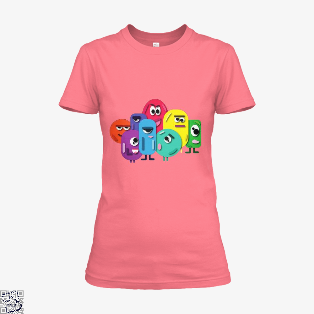 Doodle Buddy Trials Aathira Mohan Shirt - Women / Pink / X-Small - Productgenapi