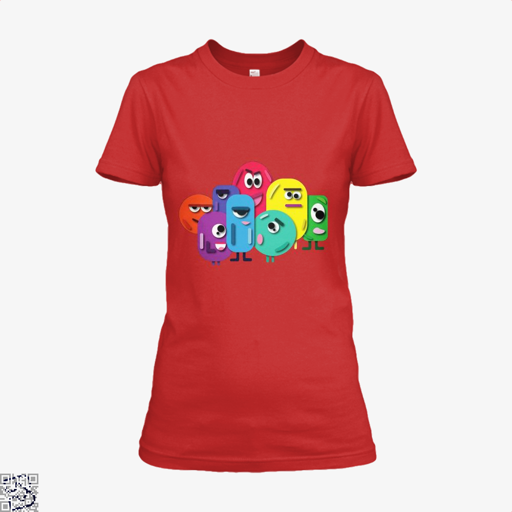 Doodle Buddy Trials Aathira Mohan Shirt - Women / Red / X-Small - Productgenapi