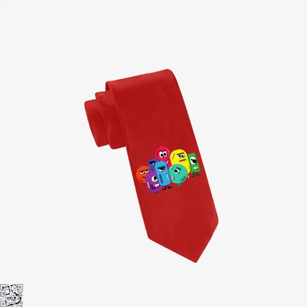 Doodle Buddy Trials Aathira Mohan Tie - Red - Productgenapi