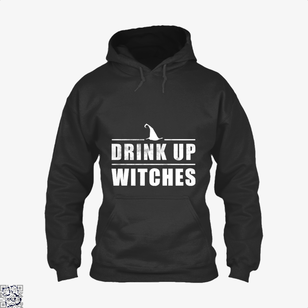 Drink Up Witches Halloween Gift Hoodie - Black / X-Small - Productgenjpg