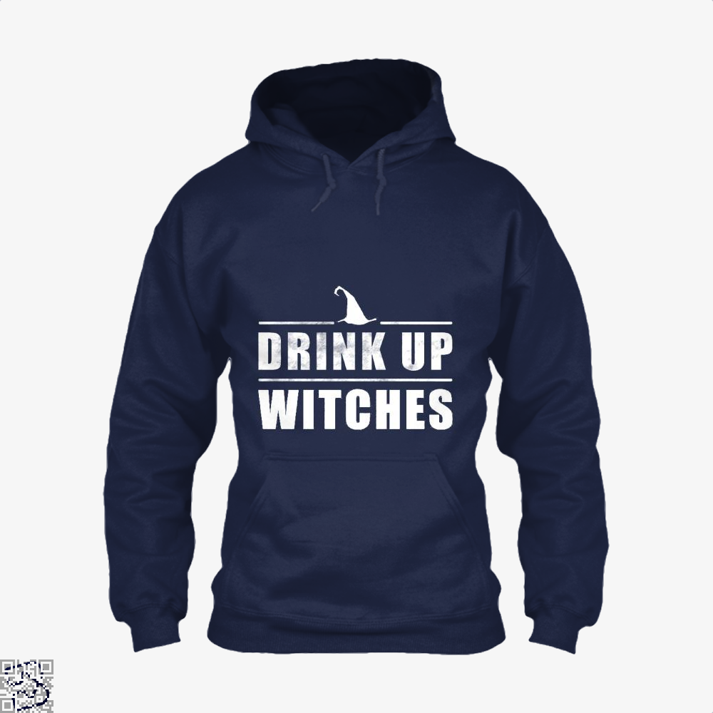 Drink Up Witches Halloween Gift Hoodie - Blue / X-Small - Productgenjpg